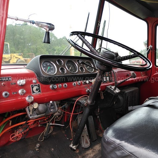 Fire Truck - 1987 Ford 8000 with Caterpillar Engine