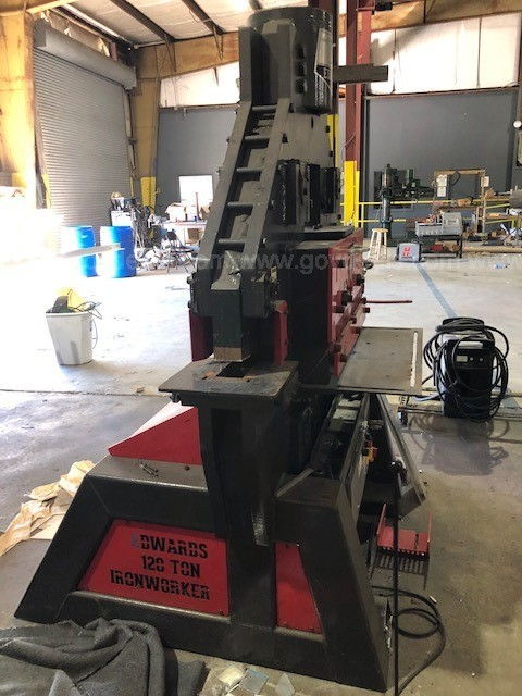120 Ton Edwards Ironworker