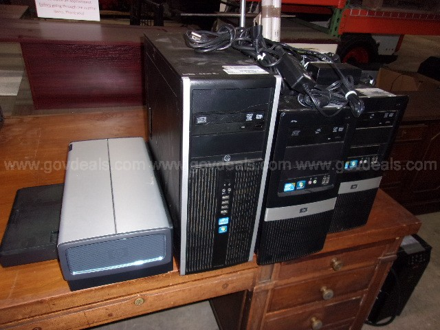 Computers and Desktop Printer
