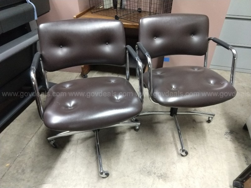 Two Office Swivel Chairs