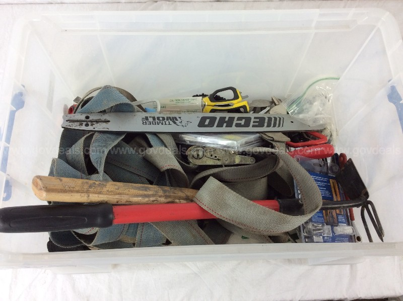 Box of Misc Hand Tools