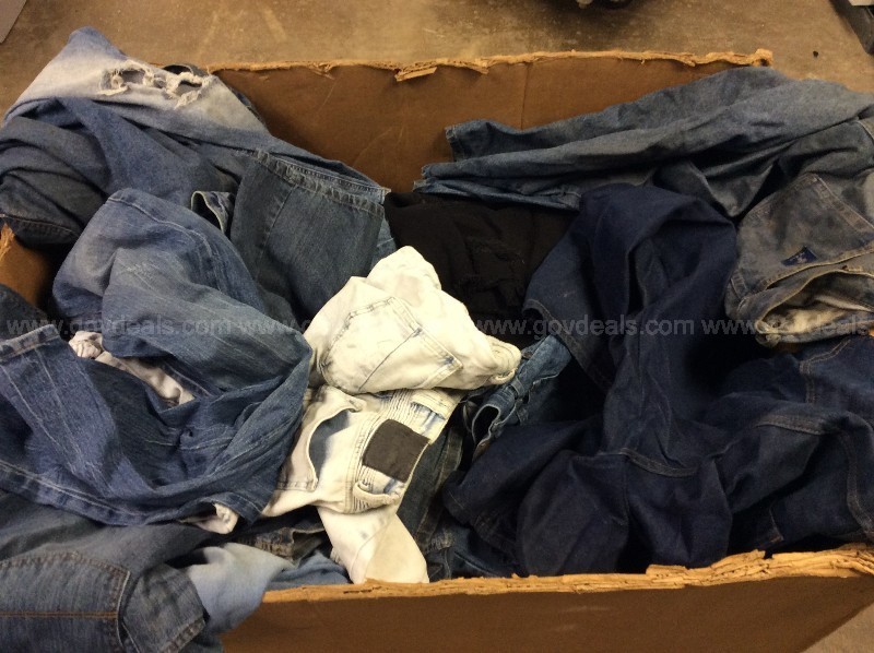 Large Box of Denim