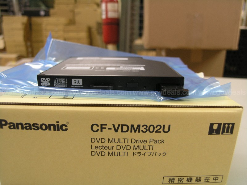 Lot of Ten (10) Panasonic DVD Multi Drives for CF30
