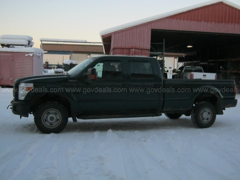 2012 Ford F-350 SD Crew Cab 4WD