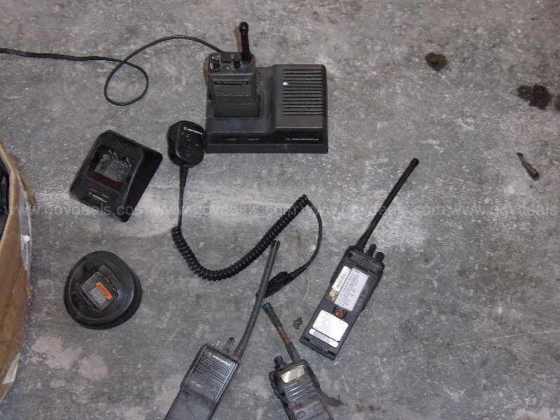 Assorted Portable Radios