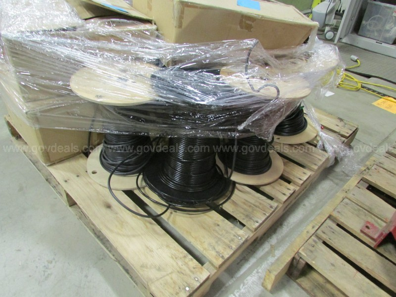 Coaxial Cable 1 PAL Spools and Jumpers (ID #12993) (D6-2R) (19-3809-4)