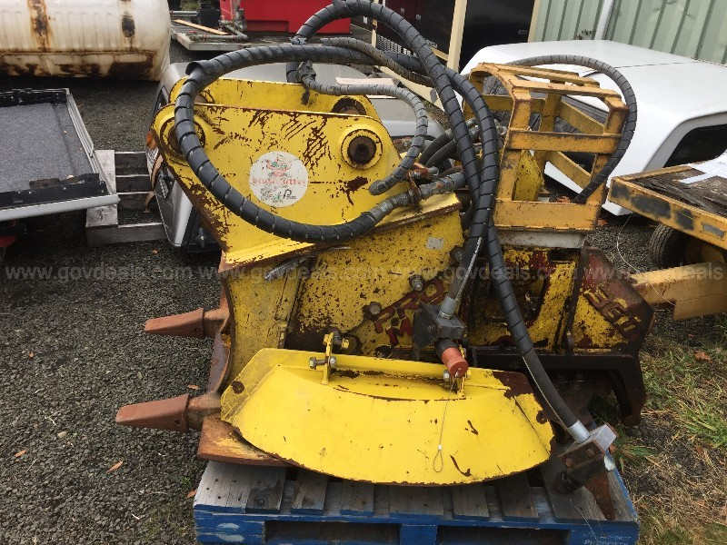 2013 Promac Brush Cutter 36BT (ID #) (GVL) (19-2719)