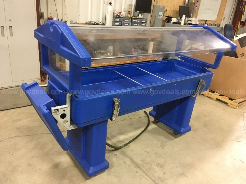 Salad Bar Cart - Blue: Cambro (ID #14175) (RW) (20-0426-21)