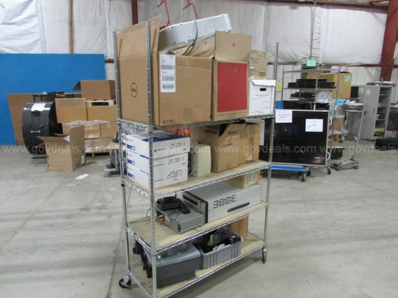 Misc Electronics 1 Rack Assorted (ID #16384) (R13) (No UPC)