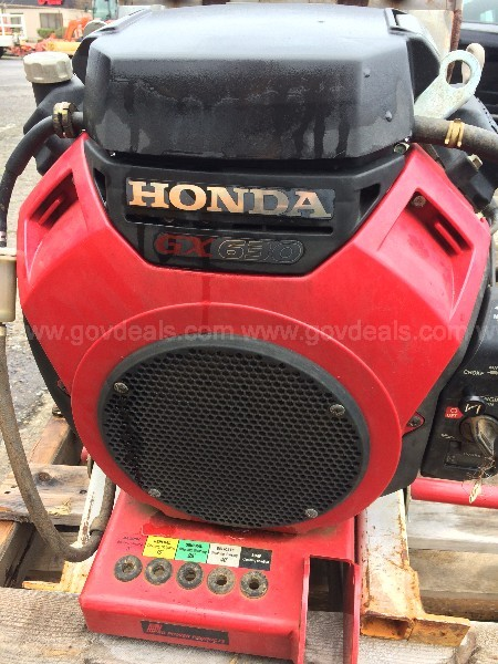 Pressure Washer ~ Honda GX630 Engine