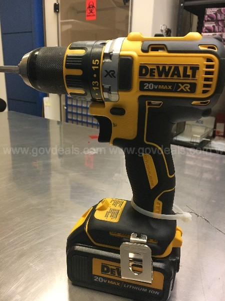 Two DeWalt Power Tools