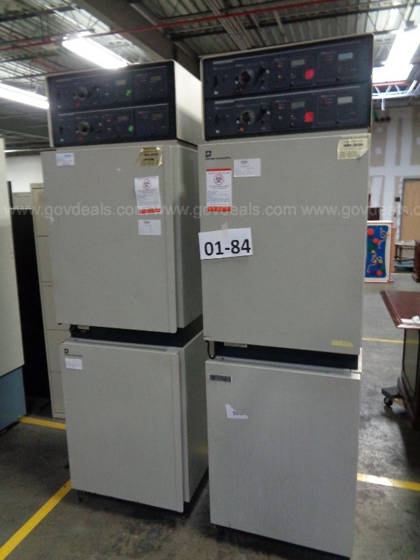 01-84  Lot of (2) Forma Scientific Double Incubators