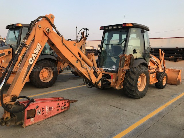 2008 CASE 4WD Backhoe