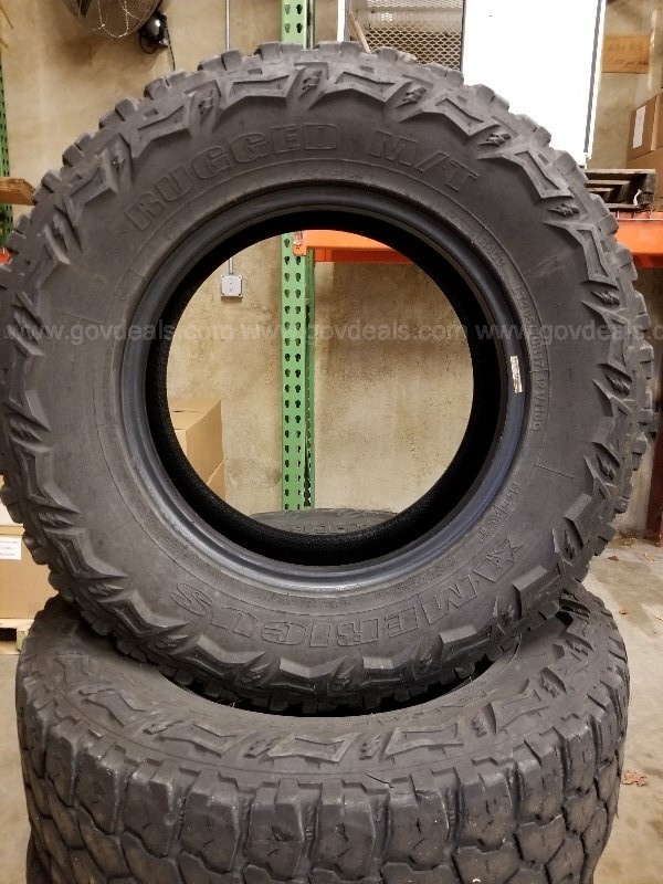 Set of 4 Americus Rugged M/T Tires