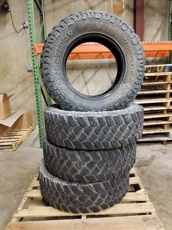 Set of 4 Firestone Destination M/T 2 Tires