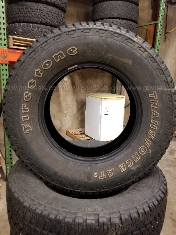 Set of 4 Firestone Transforce AT Tires