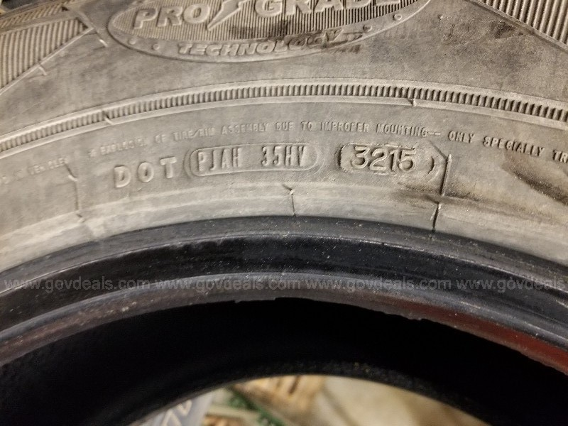 Set of 4 Goodyear Wrangler Tires