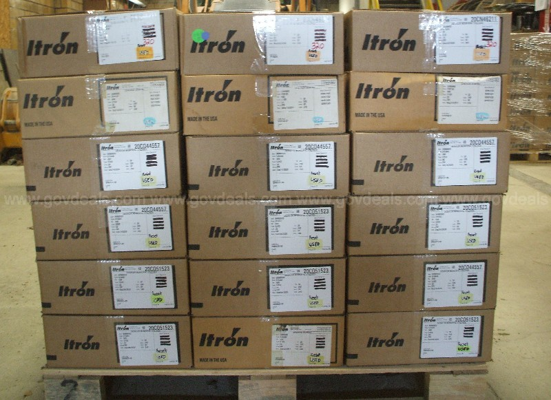 Used Itron Electric Meters