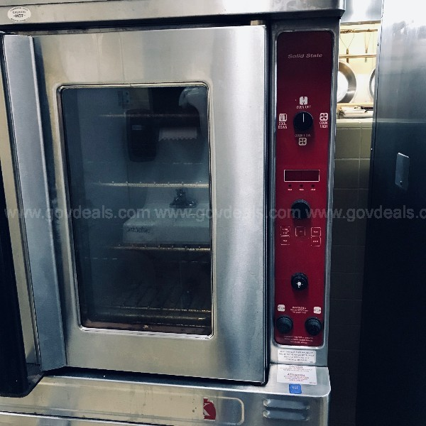 Used Double Stack Convection Oven