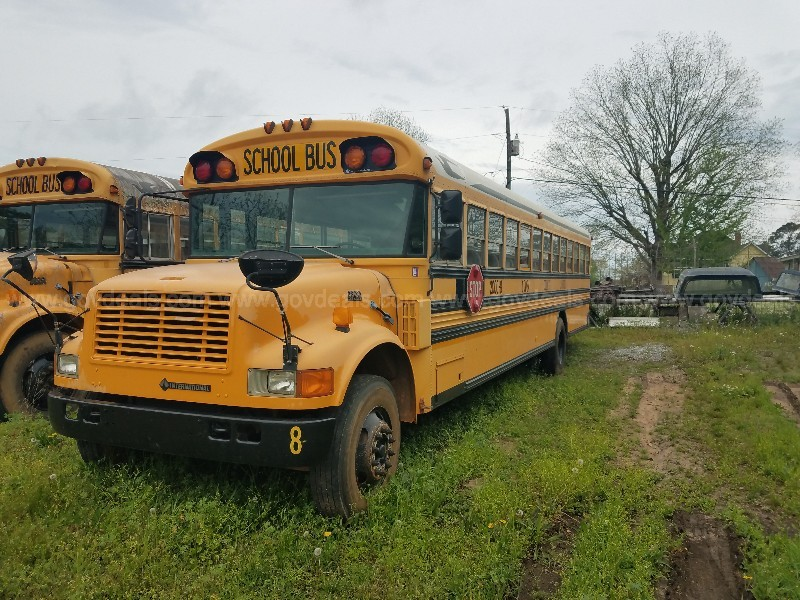 2000 BLUE BIRD 72 PASSENGER DIESEL SCHOOL BUS