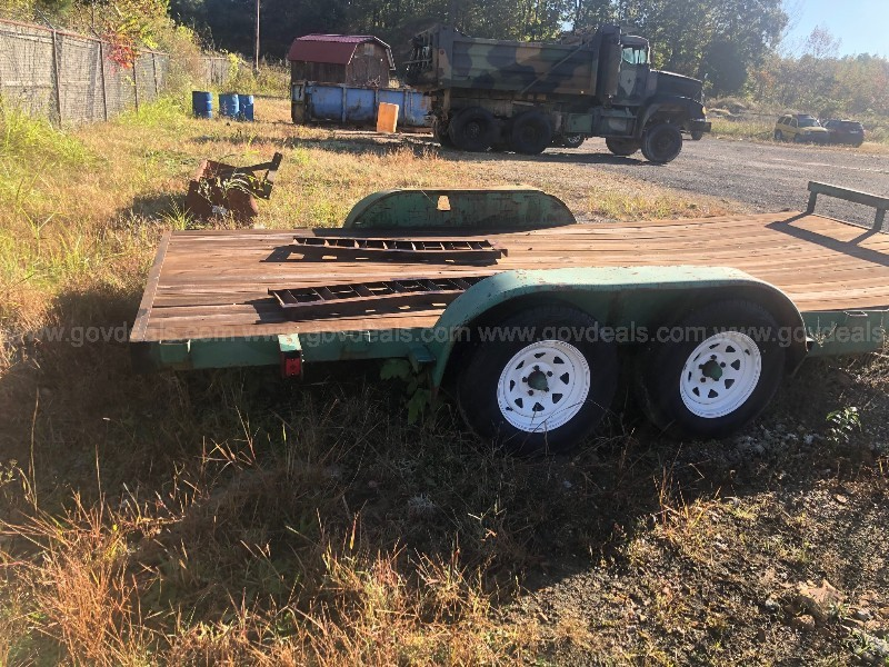 "6'10""x16ft Green Trailer"